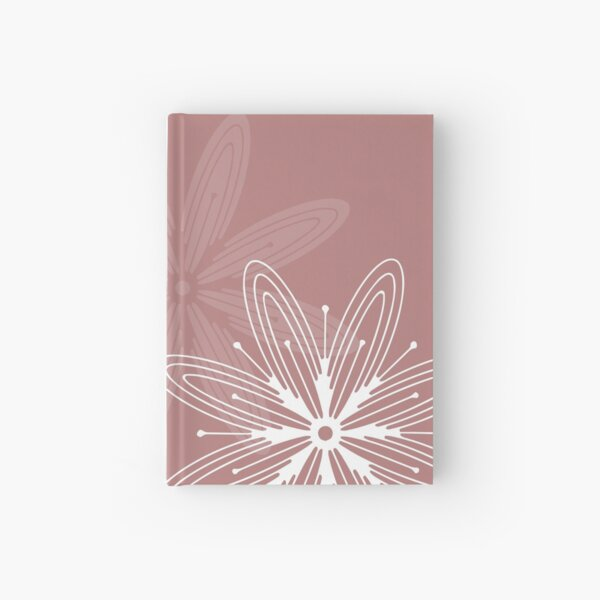 Mandala Swirl Collection Floral Seamless Surface Pattern Hardcover Journal