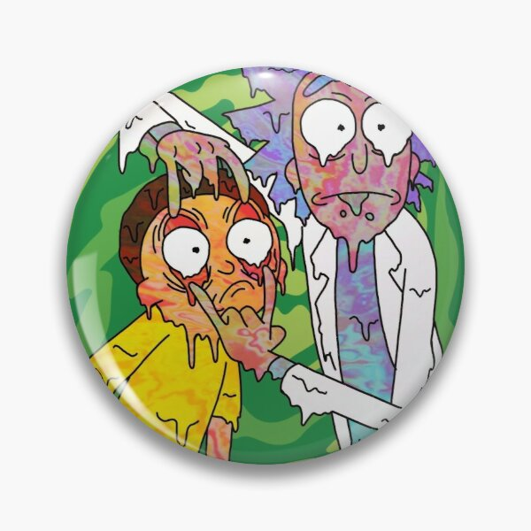 Trippy Rick and Morty  Pin