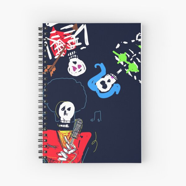 Die trying together Spiral Notebook