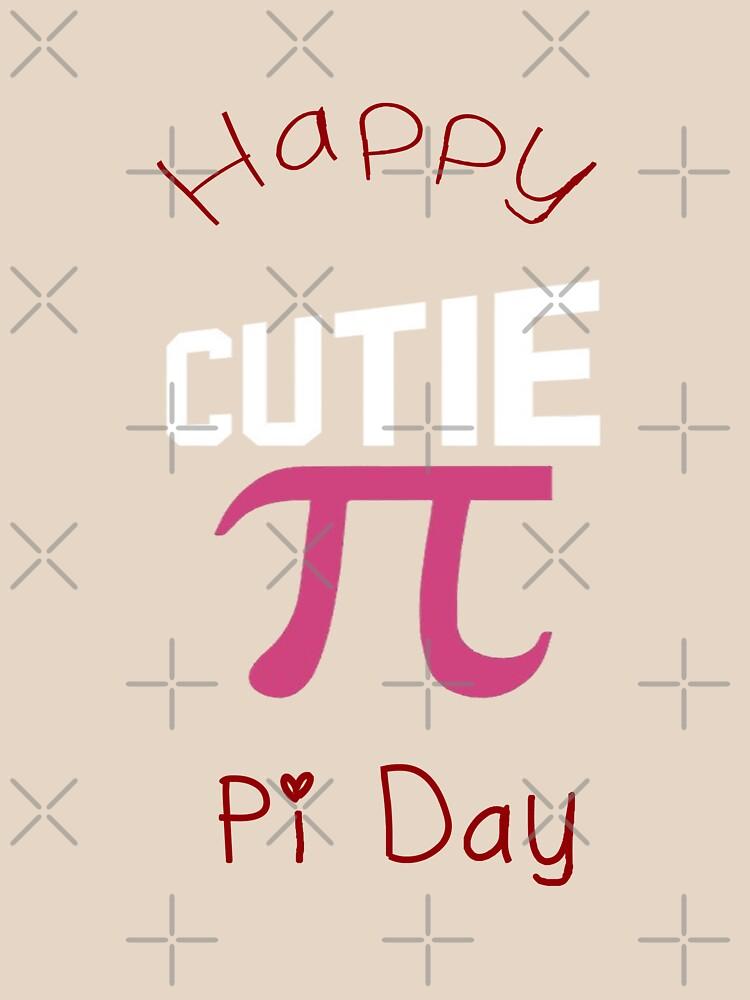 Happy Pi Day Cutie Pi by bogitini