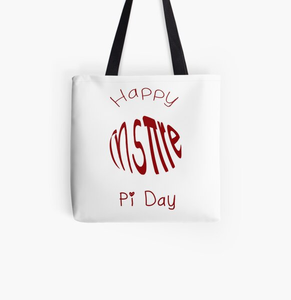 Inspire Happy Pi Day All Over Print Tote Bag