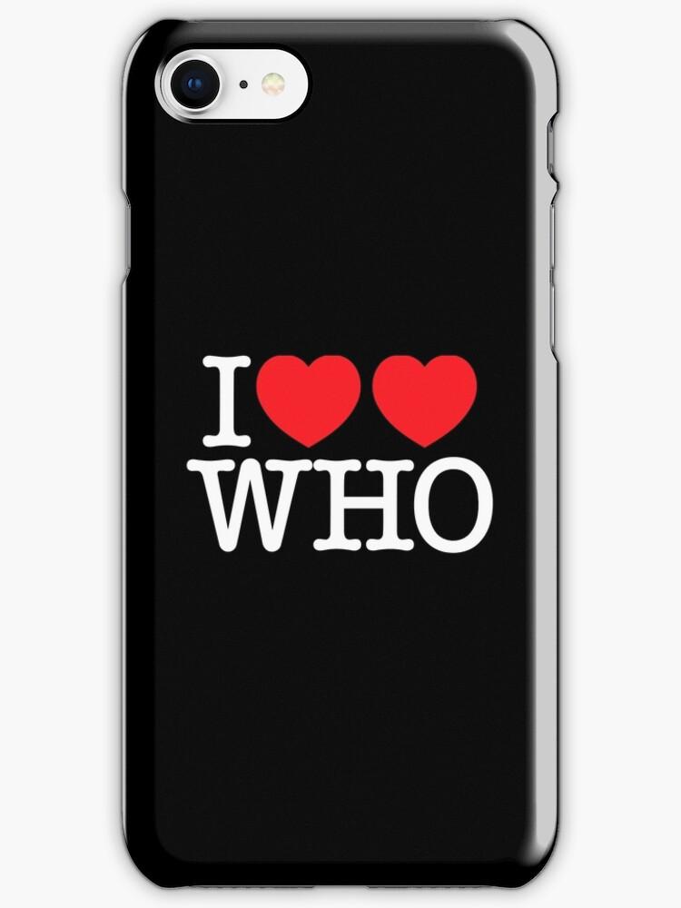 I ♥♥ WHO (dark) by glyphobet