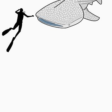 Whale Shark by tees4u