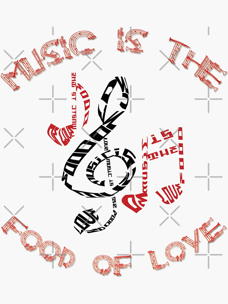 Music Is The Food Of Love by bogitini
