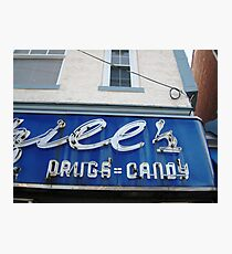 DRUGS=CANDY Photographic Print