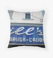 DRUGS=CANDY Throw Pillow