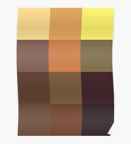 Monalisa 3x4 pixels Poster
