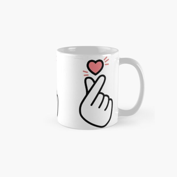KPOP - Finger heart Classic Mug