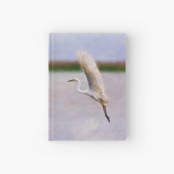 Dance of the Egret Hardcover Journal