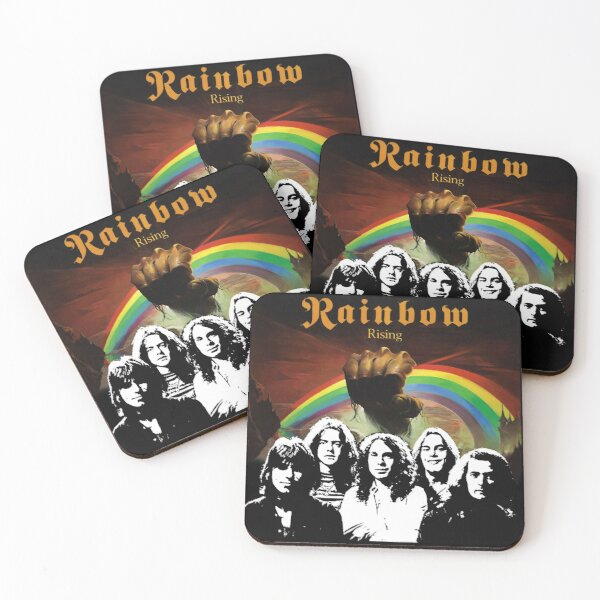 Rainbow Blackmore Coasters (Set of 4)