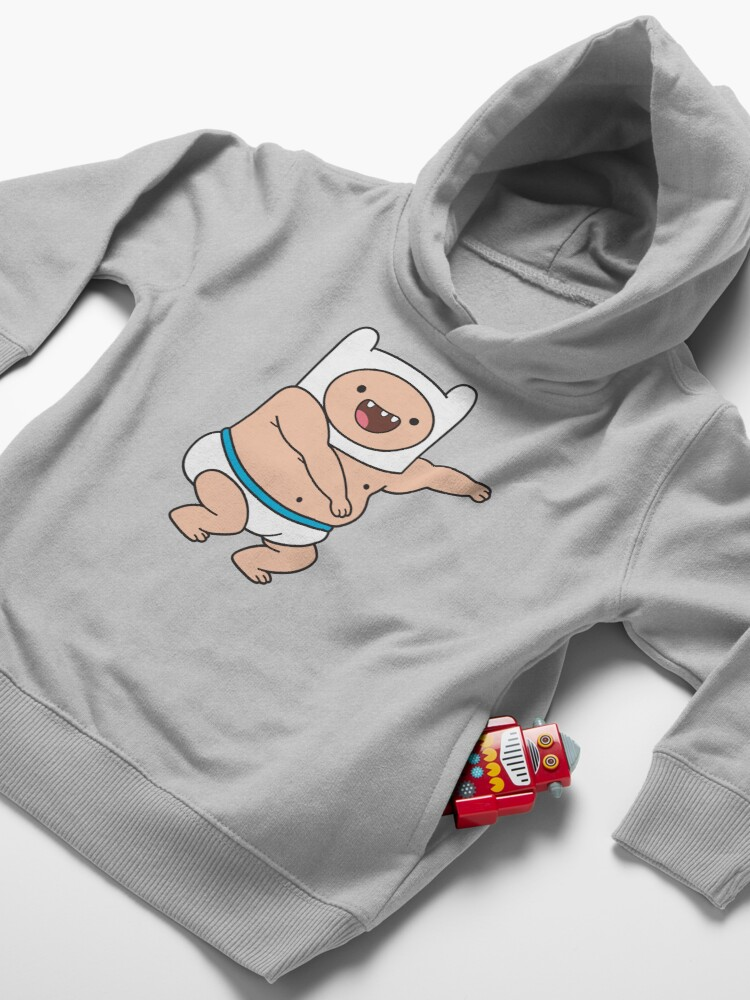 Alternate view of Baby Finn Toddler Pullover Hoodie