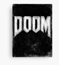 Doom Grunge Canvas Print