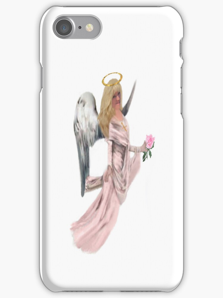 ¸.•*´♥`*•.¸ Angel With Halo~ IPhone Case ¸.•*´♥`*•.¸ by ✿✿ Bonita ✿✿ ђєℓℓσ