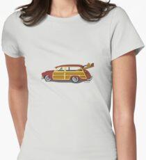 Surf n Safari Womens Fitted T-Shirt