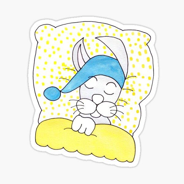 Gute Nacht Häschen Sticker