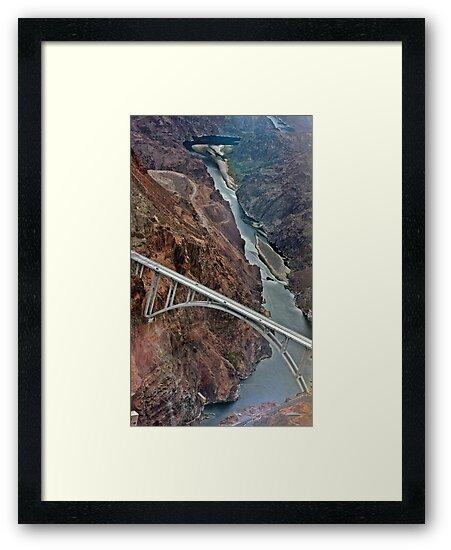 Hoover Dam, Nevada by Susanne Correa