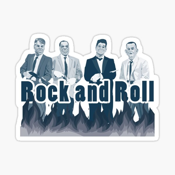 point break ex presidents rock and roll Sticker