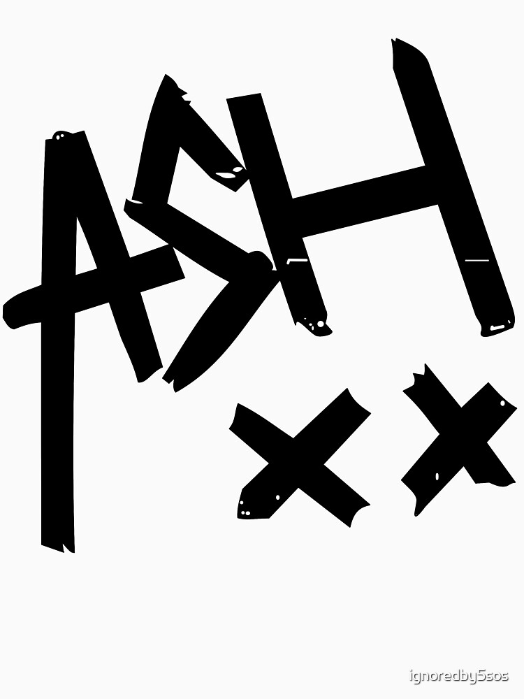 Ashton Irwin (Ash xx signature) | Baseball  Sleeve