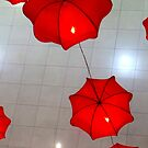 red lanterns by lensbaby