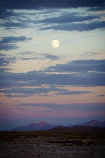 Desert Moonrise by Brent Olson