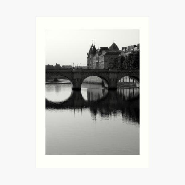 Pont Neuf Bridge, Paris Art Print