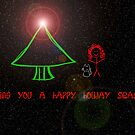 Happy Holidays - greeting card 2 by Scott Mitchell