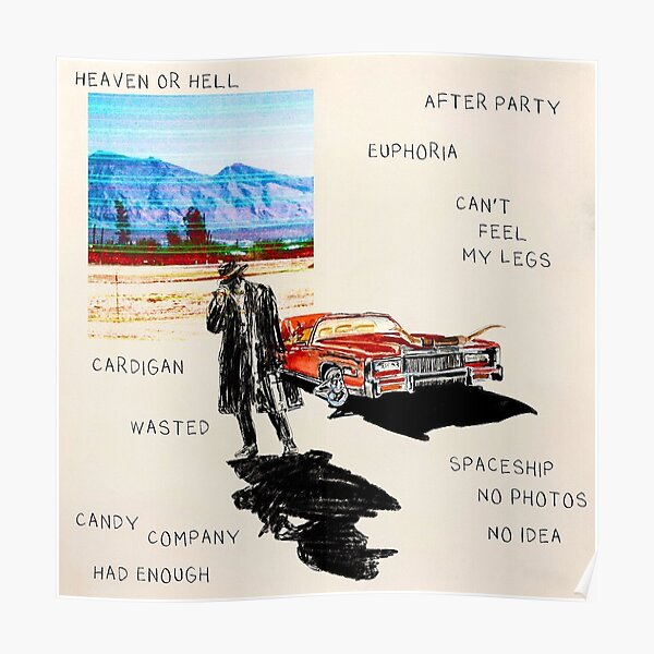 Poster Don Toliver Tracklist Heaven or Hell Poster