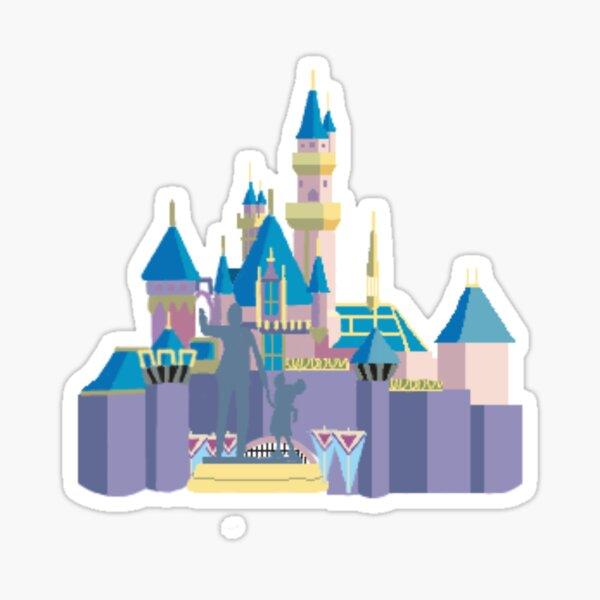 Château de la Belle au bois dormant Dessin Sticker