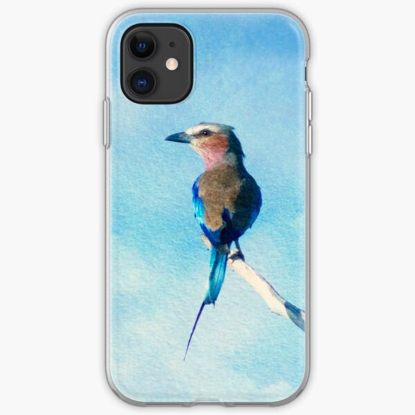 Lilac-breasted Roller iPhone Soft Case