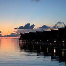Sunrise at Kapalai by Andrew Trevor-Jones