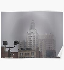 The Industrial National Bank in Providence Rhode Island Poster