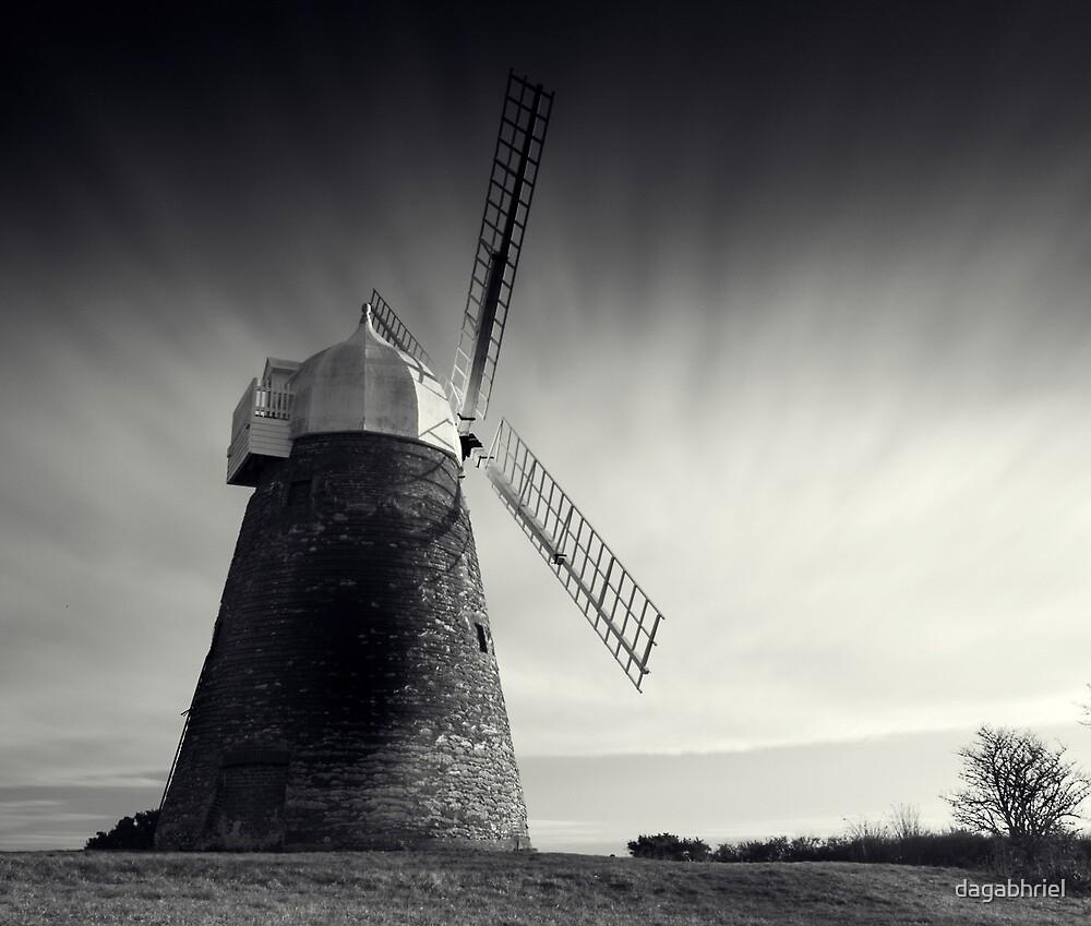 Halnaker Windmill by dagabhriel