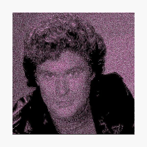 The Diamond Hoff - David Hasselhoff - Retro 8-bit style Photographic Print