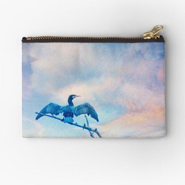 Rainbow Cormorant Zipper Pouch