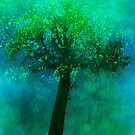 Tree in springtime by Marlies Odehnal