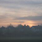 a misty sunset  by lucycat