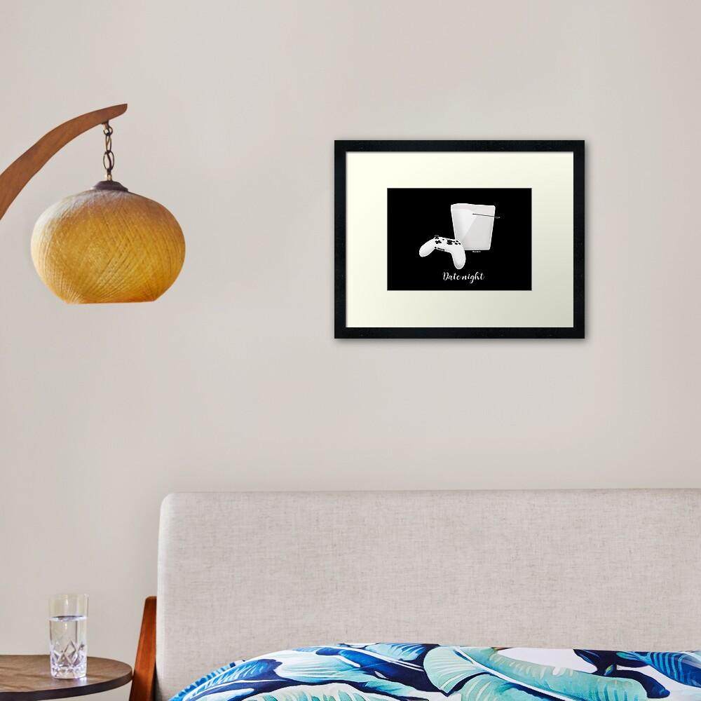 Date Night Framed Art Print