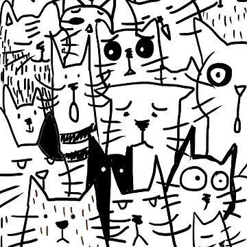 Cats doodle de KaylaPhan