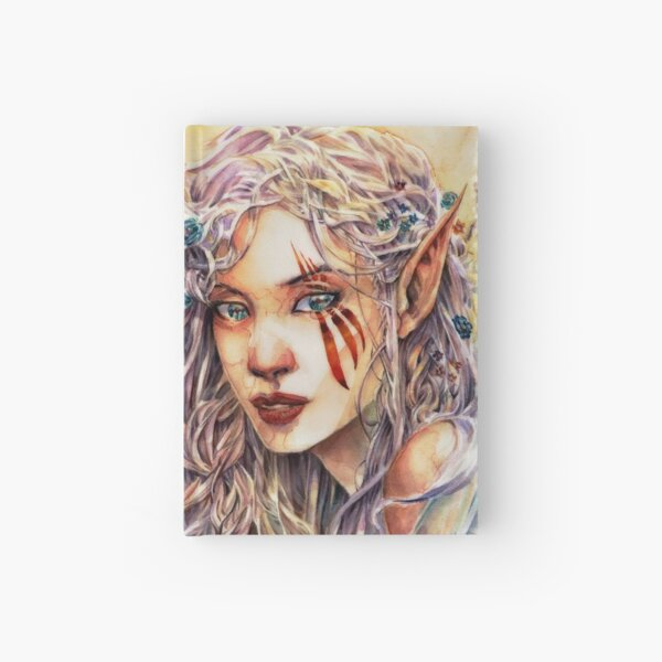 Scars of Elvendyr - Original Watercolor Art by Tony Moy Hardcover Journal