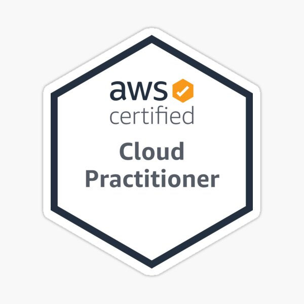 AWS Certified Cloud Practitioner Sticker