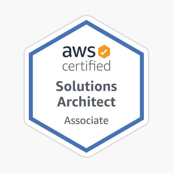 AWS Certified Solutions Architect Associate Sticker
