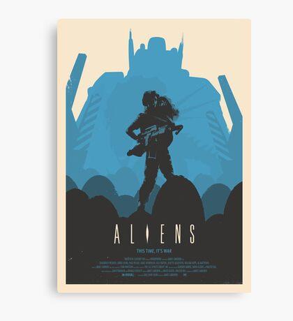 Aliens (1986) Custom Poster Canvas Print