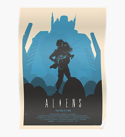Aliens (1986) Custom Poster Poster