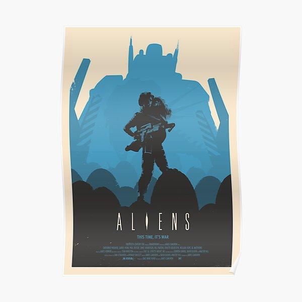 Aliens (1986) Affiche personnalisée Poster