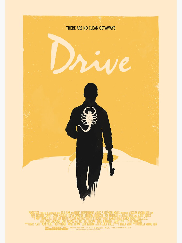Drive (2011) Custom Poster Variant  by Rusty100