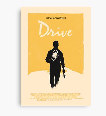 Drive (2011) Custom Poster Variant  Canvas Print