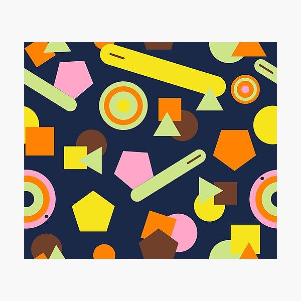 Geometric Sweets Photographic Print