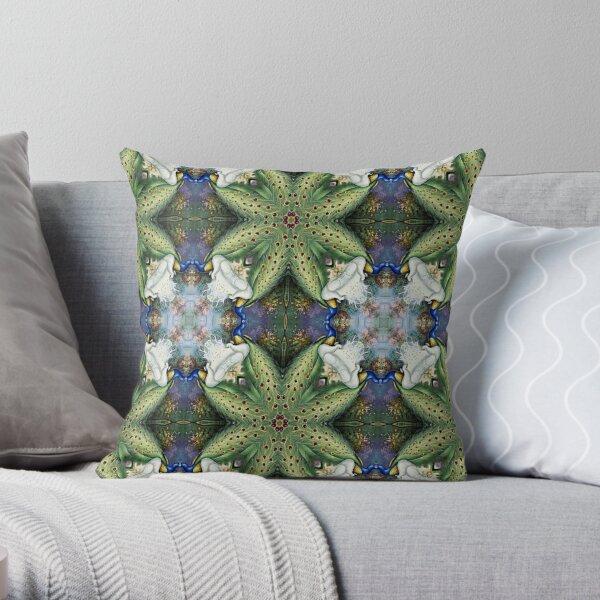 Kaleidoscope Kreation 1007 Throw Pillow