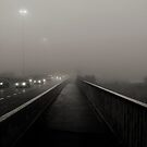 a misty walk into Totton - over the bridge by DARREL NEAVES