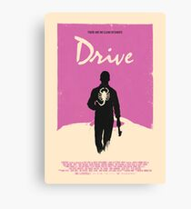 Drive (2011) Custom Poster Canvas Print